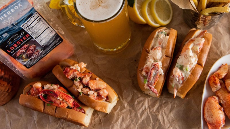 different types of lobster rolls